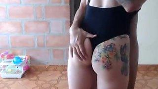 Perfect big natural boobs