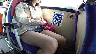Asian fingered on train