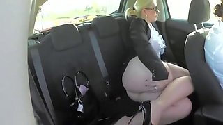 Malene goes for a car ride