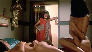 Lean and lascivious Cleopatra getting boned in doggy style position