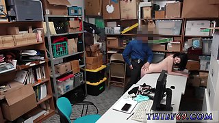 Office cam girl Suspect was caught crimson passed by store associate