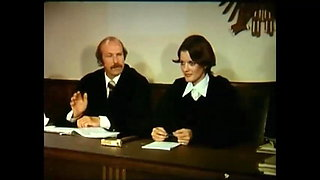 Vintage German - courtroom orgy