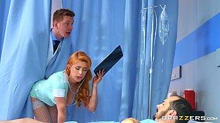 slutty doctor fucks with a nurse