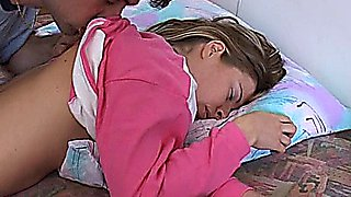 Fucking a very hot sleeping teen girl