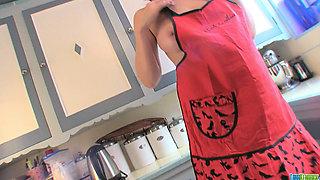 Lana Kendrick - Kitchen Help Lap Dance 1