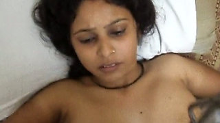 Dirty-minded Indian dark skinned housewife gets hammered missionary