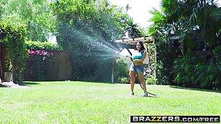 Brazzers - Dirty Masseur - Rub and Fuck Thy Neighbor scene starring Sheridan Love and Keiran Lee