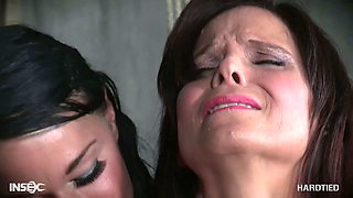 Kinky woman punishes husband's mistress Syren De Mer