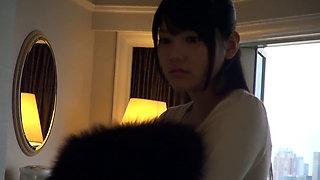 Japanese Receptionist Mai Suite Room Fuck
