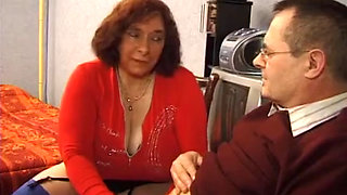 French Granny Olga loves getting pounded hard