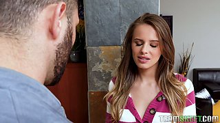 Sexy liar Jillian Janson tries to get pregnant lying to her boyfriend