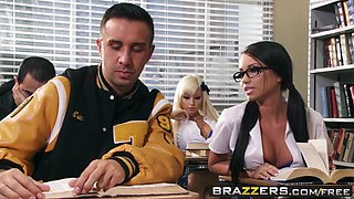 brazzers - big tits at school - raven bay rikki six keiran lee - duel intentions clip