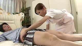 sexy nurse soaked cock their patients as a treatment