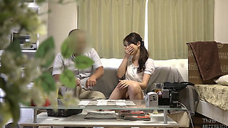 Asian housewife getting fucked hard