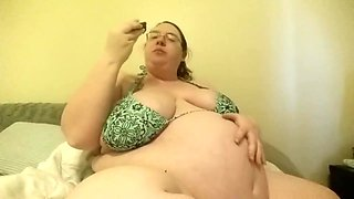 Massive Pregnant BBW Belly