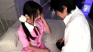 Tight Asian Schoolgirl POV Blowjob