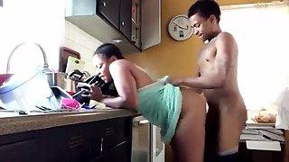 cooking kitchen sex black