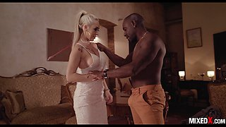 MAN WITH MONSTER BBC TAKES ADVANTAGE OF NAIVE BLOND CHRISTINA