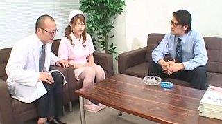 Crazy Japanese chick Nana Mochizuki in Best Nurse, Big Tits JAV video