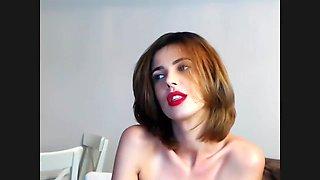 Flexible redhead loves to masturbate. add me on snapchat: jbae.69