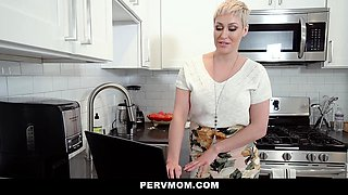 PervMom - Busty stepmom giving her son a good fuck