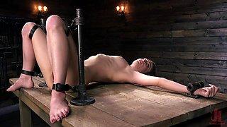 kinky bondage device for refined sexual pleasures