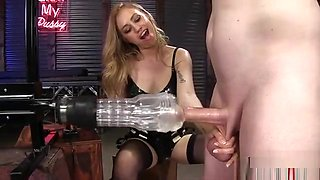 Hot Mistress Domination With Orgasm