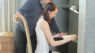 Lovely schoolgirl gets seduced and pounded by older teacher9