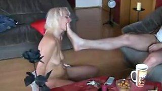 Gorgeous german slave