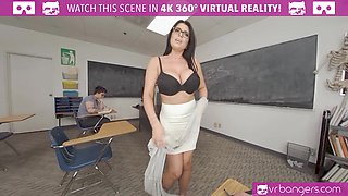 Sexy Teacher Romi Rain Getting Rammed By A Sexy Stud
