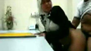 Amateur Turkish bitch enjoys rear banging with me indoors