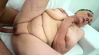 Fat grandmother fucked