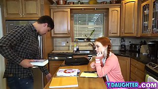 stepdaughter dolly little gets pounded in bedroom