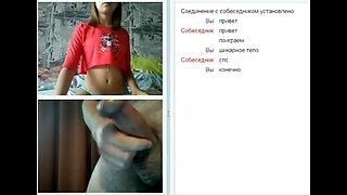 Videochat #24 tits, tits, tits and my dick