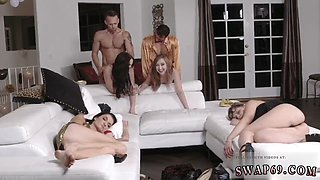 Milf fucks duddy chums daughters and fucking  New Year New Swap