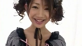 Crazy Japanese whore in Fabulous Maid, Blowjob JAV scene