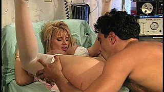 Fucking a busty blonde slut is his favorite part of the day