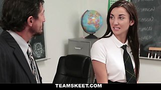 Jade Amber in After School Sex Sale - InnocentHigh