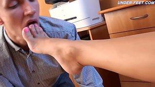 russian office slave