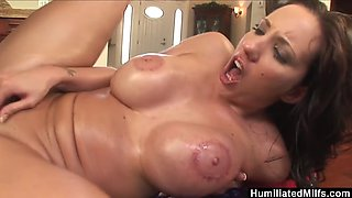 HumiliatedMilfs - Oiled up Kelly ready for a big black cock