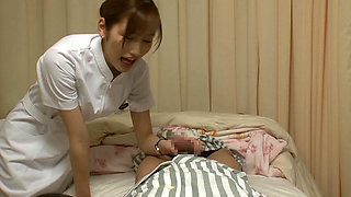 Cuty Japanese Nurse Sex Therapy Training After Work Hour