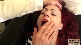 PASCALSSUBSLUTS - Redhead Isabel Dean dommed and slammed