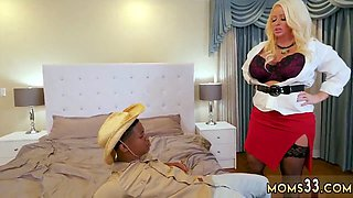 German blowjob supermarket and mature teacher Milf Fucks The Gardener