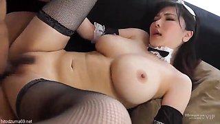 Asian milf maid