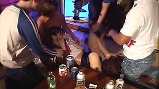 Drunk gangbang  with  petite Japanese girl Nao Oikawa