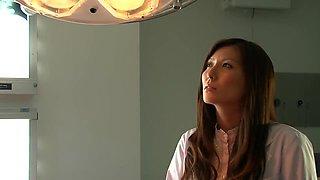 Yuna Shiina in Beauty Woman Doctor Humiliation