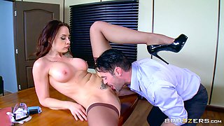 Chanel Preston cannot resist a good-looking man's big penis