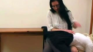 Naughty Schoolgirl Punished