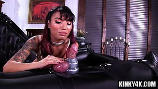 Hot pornstar bondage and orgasm