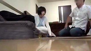 Japanese Amateur Bathroom Blowjob Part 01